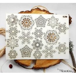 Сет 0298 Снежинки