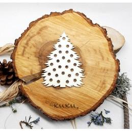 Коледна елха-фон032