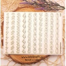 Цифри 0374