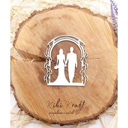 Арка,младоженци,0426