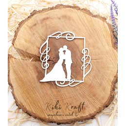рамка,младоженци,0431