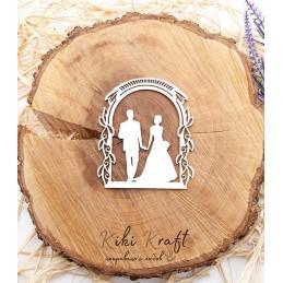 арка,младоженци,0434