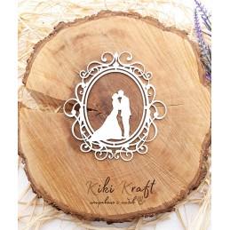 рамка,младоженци,0438