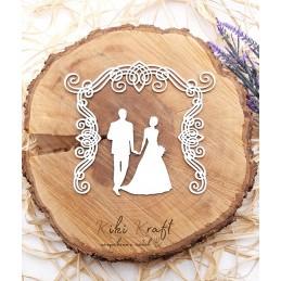 Арка,младоженци,0491