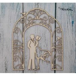 Фон-Арка с младоженци-0112